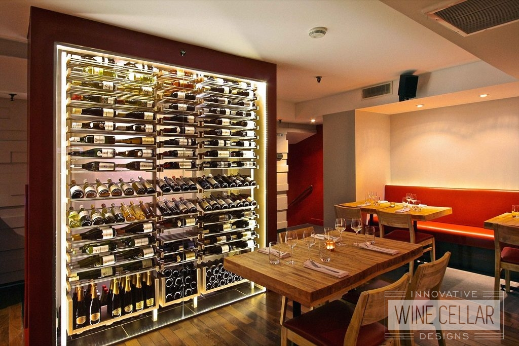 Innovative Wine Cellar Design