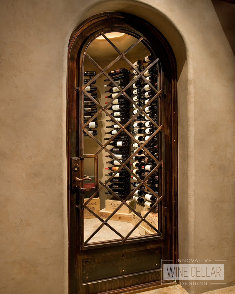 Custom wine cellar doors innovative wine cellar designs for Wine cellar design ideas
