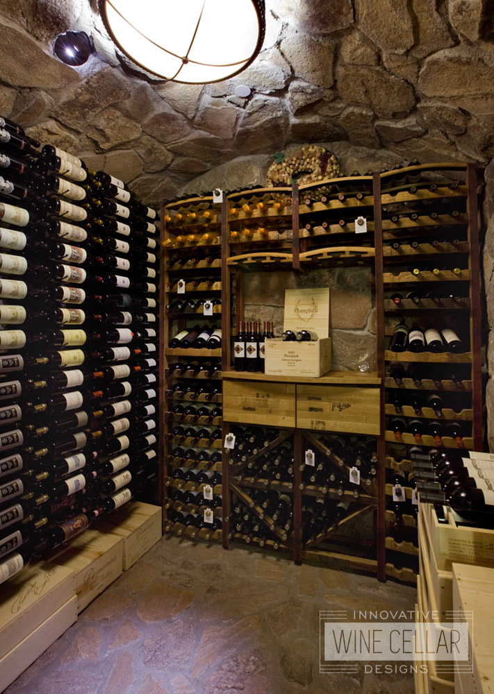 Reclaimed wine barrel designs innovative wine cellar designs for Wine cellars designs