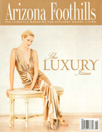 Arizona Foothills Magazine Press Release
