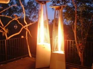 Ferrara Flame Outdoor Heaters come in different size options.