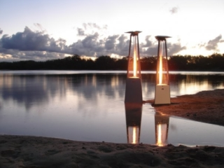 Ferrara Flame Outdoor Heaters are built to withstand tough weather conditions.