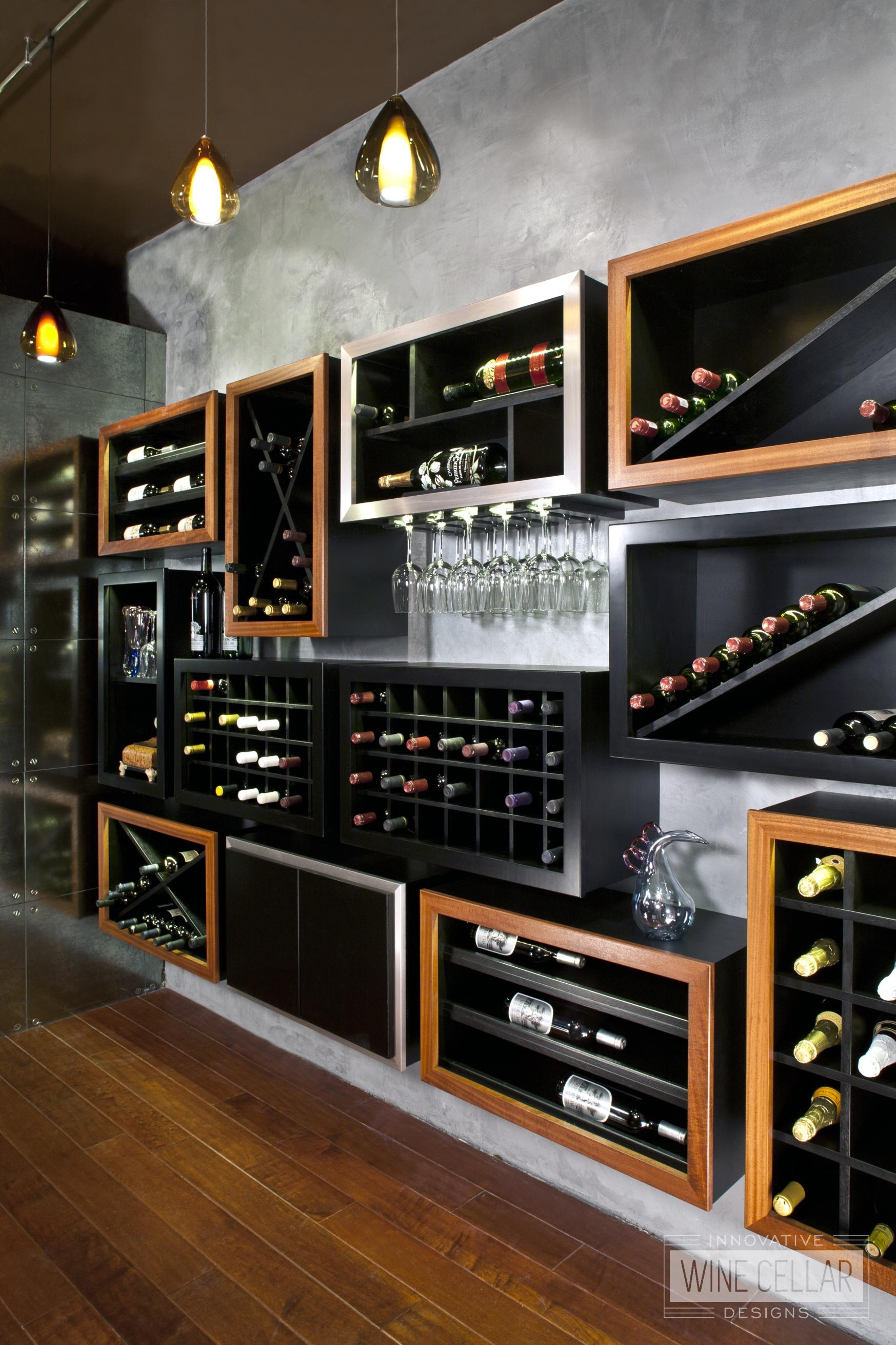 Innovative Wine Cellar Designs Custom Design Build