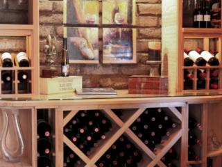 Custom Wood Racking for Wine Cellar by Innovative Wine Cellar Designs