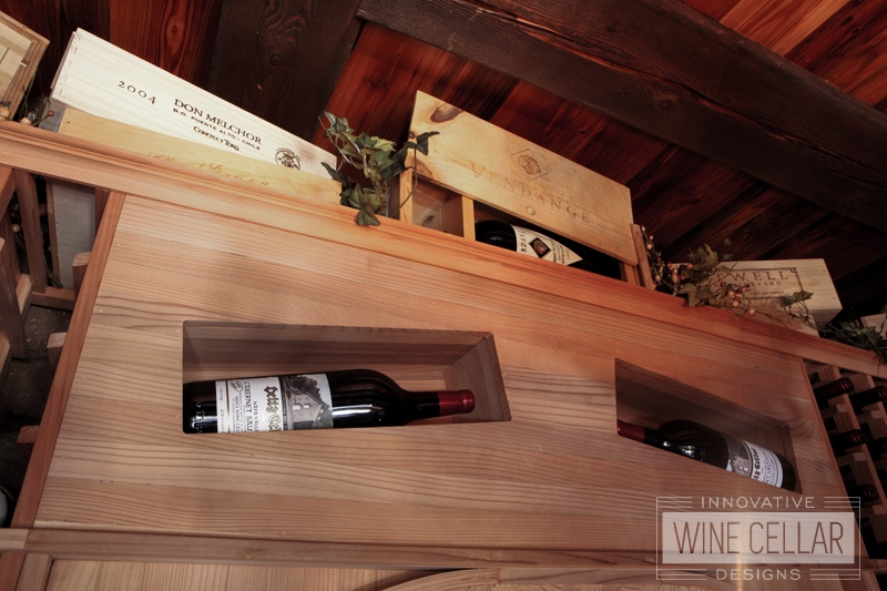 Custom Wine Wood Racks by Innovative Wine Cellar Designs