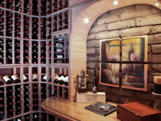 Custom Wood Wine Racking Designed by Innovative Wine Cellar Designs