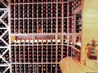 Custom Wood Wine Racks