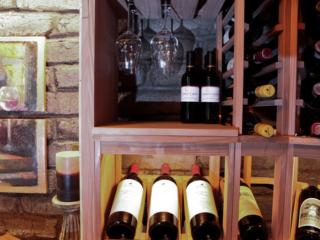 Custom Redwood Wine Racks by Innovative Wine Cellar Designs