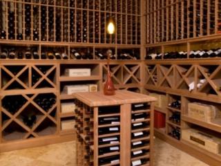 Wine Wood Racking and Storage