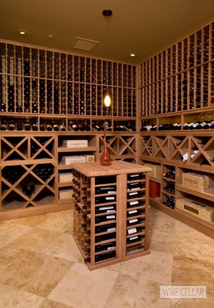 Wine Wood Racking and Storage