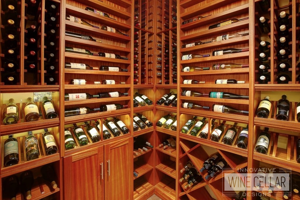Custom Wood Wine Racks and Storage Cabinets by Innovative Wine Cellar Designs