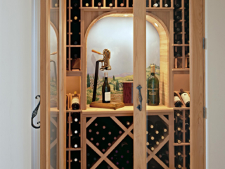 Innovative Wine Cellar Designs can create custom wine racking for any sized area.