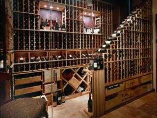 Custom Wood Wine Racks Designed for Smaller Area