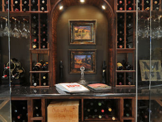 Custom Wood Wine Rack Solutions by Innovative Wine Cellar Designs