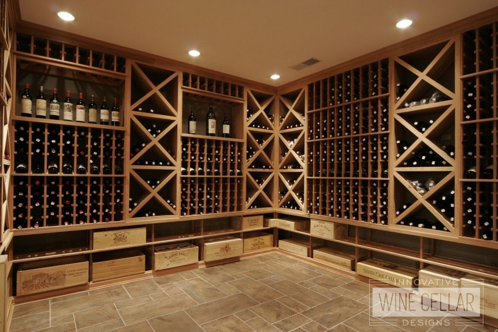 Custom Wood Wine Racks and Storage by Innovative Wine Cellar Designs