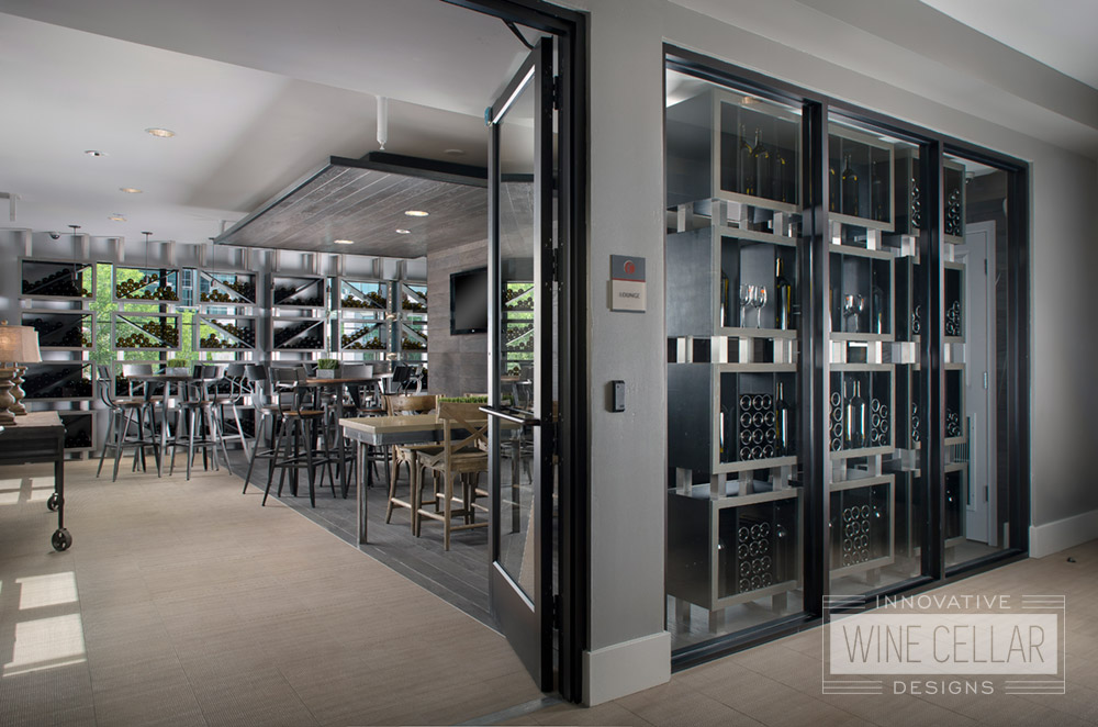 Wine Wall Storage for Commercial & Corporate Businesses