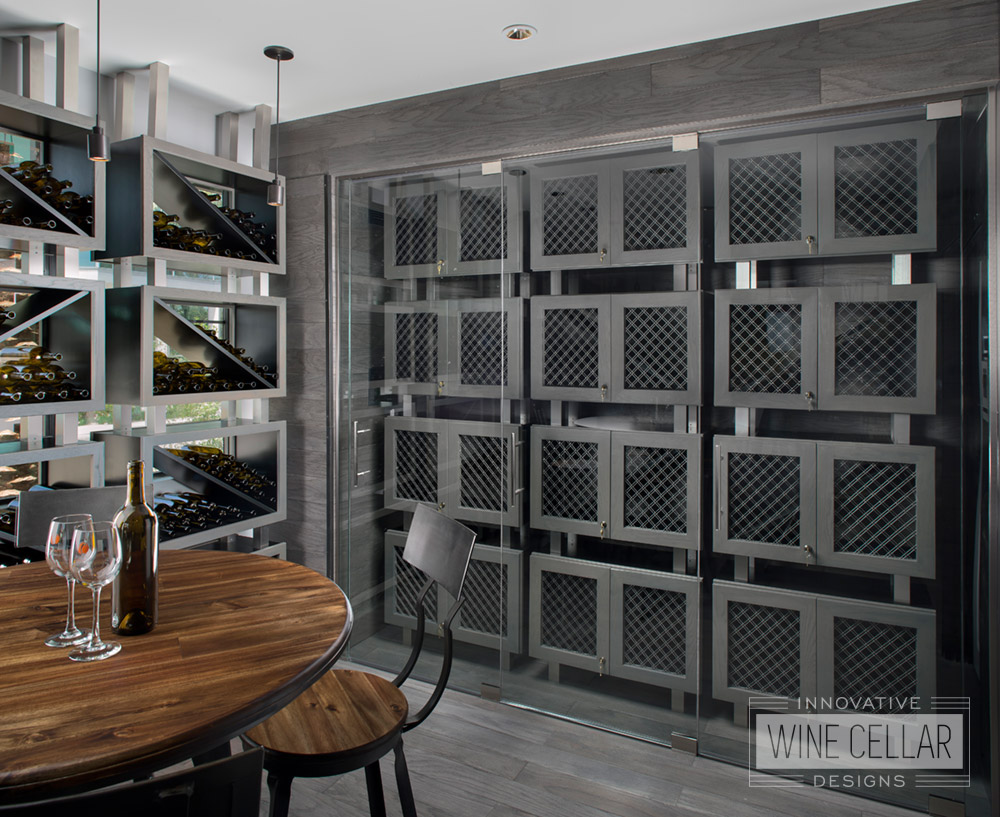 Climate Controlled Wine Wall Lockers for Commercial & Corporate Businesses