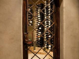 Custom Wine Cellar Door Design by Innovative Wine Cellar Designs