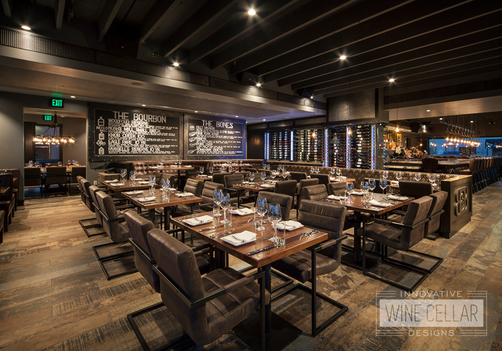 Custom Wine Cellar Designs for Restaurants by Innovative Wine Cellar Designs