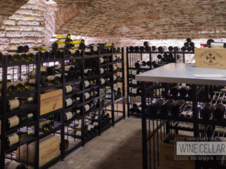 Transitional Classic Wine Racks