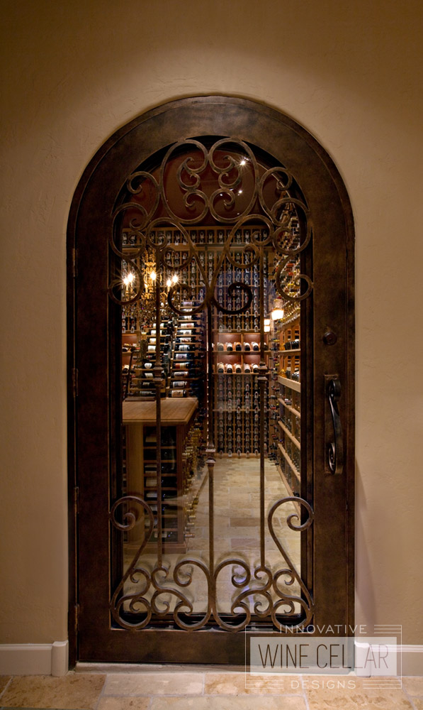 Custom Wine Cellar Doors Innovative Wine Cellar Designs