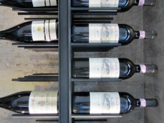 Transitional Gravity Wine Racks