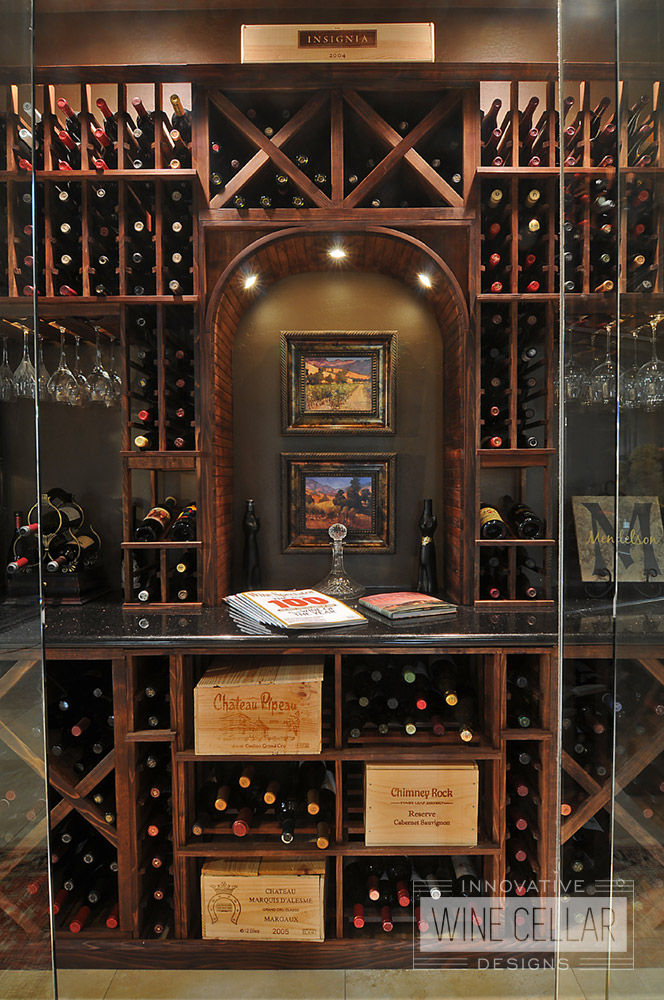Custom Wood Wine Rack Solutions by Innovative Wine Cellar Designs