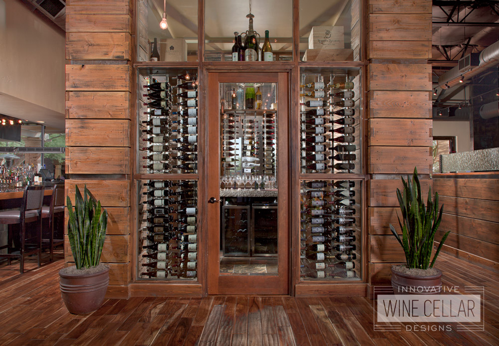 Custom Wine Cellar and Display for Hotels and Casinos
