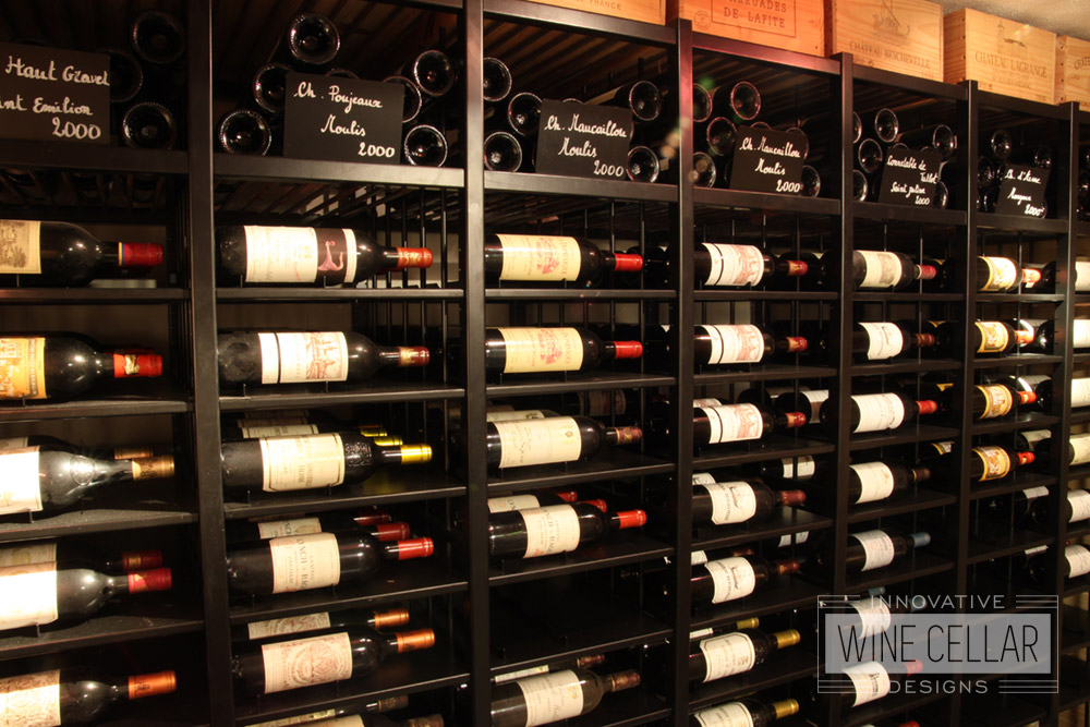 Transitional Classic Wine Racks