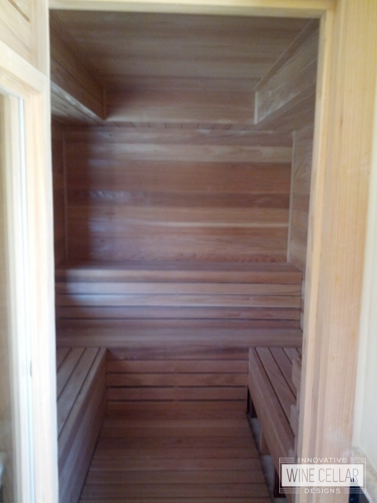 Innovative Wine Cellar Designs Custom Designed Saunas