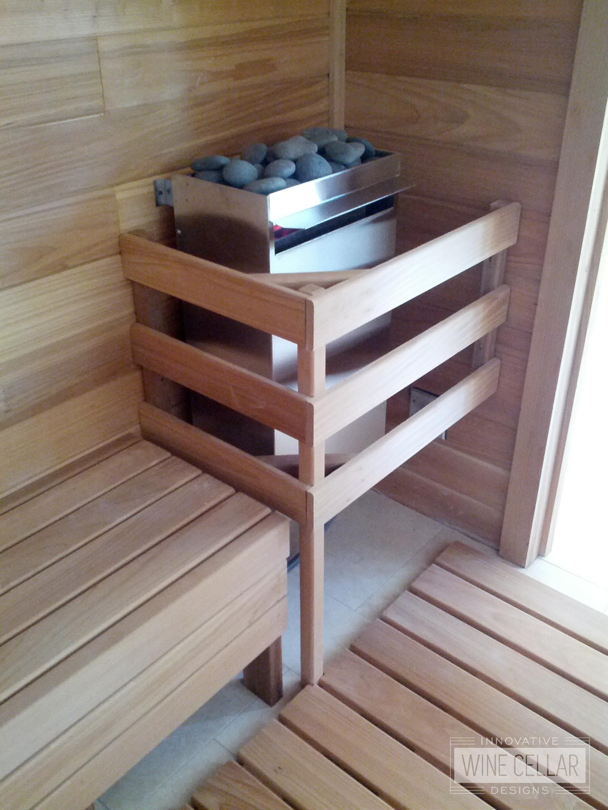 Innovative Wine Cellar Designs Custom Designed Saunas