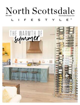 Innovative Wine Cellar Designs featured in North Scottsdale Lifestyle Magazine July 2019